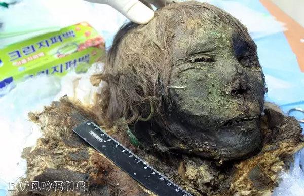 沉睡900年的北极公主真的很吓人啊